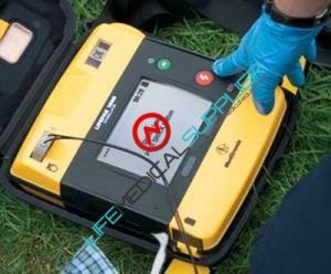 AEd Defibrillator Lifepack 1000 with ECG-0