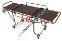 Single person Oversized Mortuary cot w/rails-0