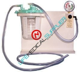Rico On-board aspirator RS-4X w/ Disp. Bemis Canister 1001D-0