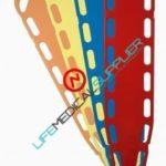 LSP XTRA Backboard 14 pins - Xray translucent -0
