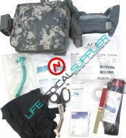 ENHANCED Military IFAK bag LEVEL 2 Model FA201-4610