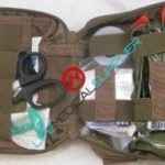 ENHANCED Military IFAK bag FA200 LEVEL 1 with supplies-0