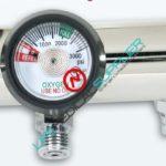 Oxygen regulator Click style 0-25 lpm 2 diss-0