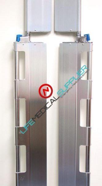 Foldable Scoop stretcher - aluminum-0