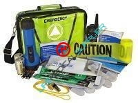 MobilAid Leader emergency kit with radio Model 31772-0