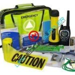 Emergency Incident Commander Kit with radio (31770)-0