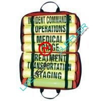 Triage vest set of 8 with carrying case 021-3-0