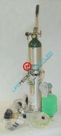 Mada oxygen kit with cylinder type E/manual resuscitator/regulator-0