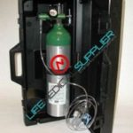 Emergency oxygen unit w/cylinder type D/hard case -0