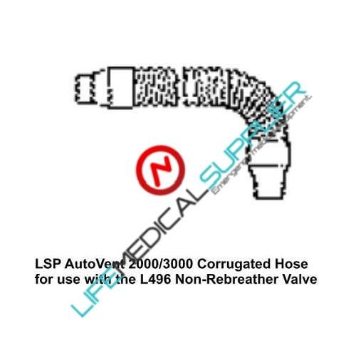 "Reusable corrugated Hose 8"" (AutoVent 2000 & 3000)-0"