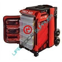 MobileAid Pro 100 Easy-Roll First Aid Station -0