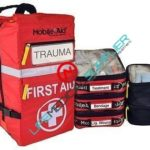 Trauma First Aid Backpack stocked w/safety vest-0