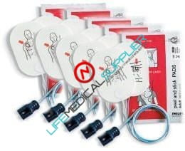 Adult AED Pads for Heartstart FR2+ 5/pkg.-0