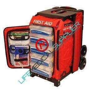 Rolling Trauma First Aid Station flag w/stretcher 31500-0
