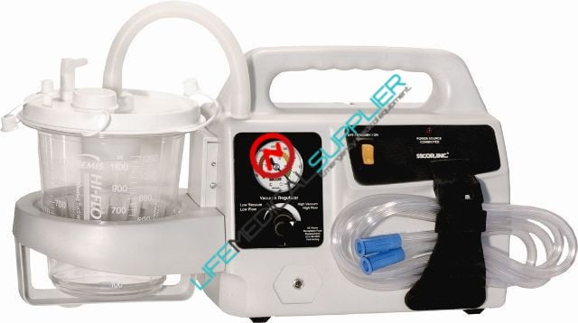 S-Scor Onboard portable aspirator EVX DC cable included-0