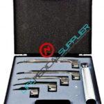 Laryngeoscope Miller 5 Blade kit - American Profile-0