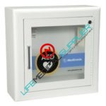 Wall Cabinet with Alarm - Recessed, Square Edges-0