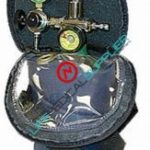 Oxygen shoulder kit w/cylinder type C/regulator 2-8 lpm-0