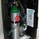 oxygen kit hard case w/cylinder type D regulator 0-6lpm-0