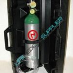homecare oxygen kit cylinder type D hard case regulator 2-8 lpm-0