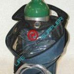 Oxygen kit w/shoulder bag and regulator 0-8 lpm-0