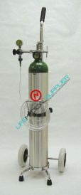Oxygen Kit w/cylinder type E regulator 2-15 lpm-0