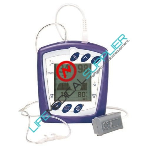 CAPNOCHECK II CAPNOGRAPH W/ PULSE OXIMETER & BATTERY W/CHARGER-0