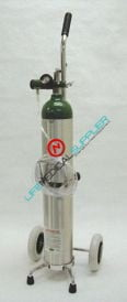 Emergency Oxygen Kit w/cylinder type E regulator 1-8lpm-0
