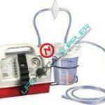 Gomco aspirator G180CE-JAR w/reusable poly bottle 1200ml-0
