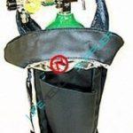 Shoulder bag w/cylinder type D regulator 0-8 lpm-0