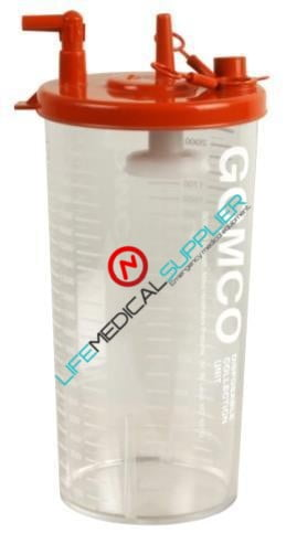 Gomco Disposable collection bottle 2100 ml each-0