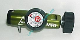 Non Magnetic click style oxygen regulator CGA-870 0-25lpm-0