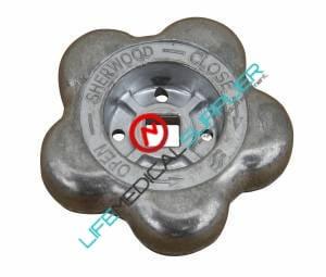 Aluminum handwheel - CGA540 valve-0