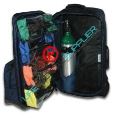 Oxygen /trauma /AEd backpack - empty--0