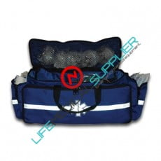 Large EMS duffle responder bag royal bue -empty--0