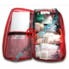 Day pack soft first aid kit with supplies-0